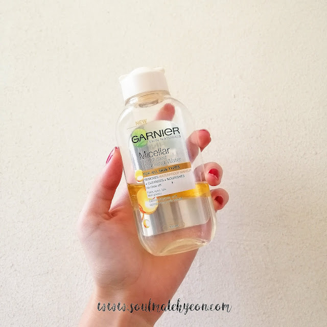 Review; Garnier's Micellar Oil-Infused Cleansing Water