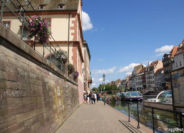 Le partenze delle barche per il tour Batorama a Strasburgo