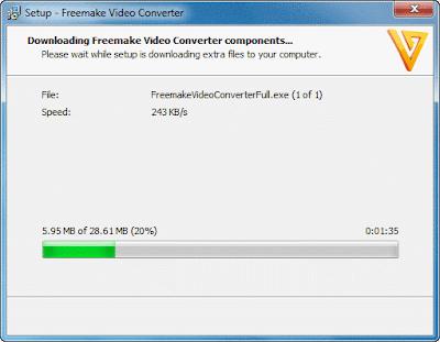 cara install freemake online installer