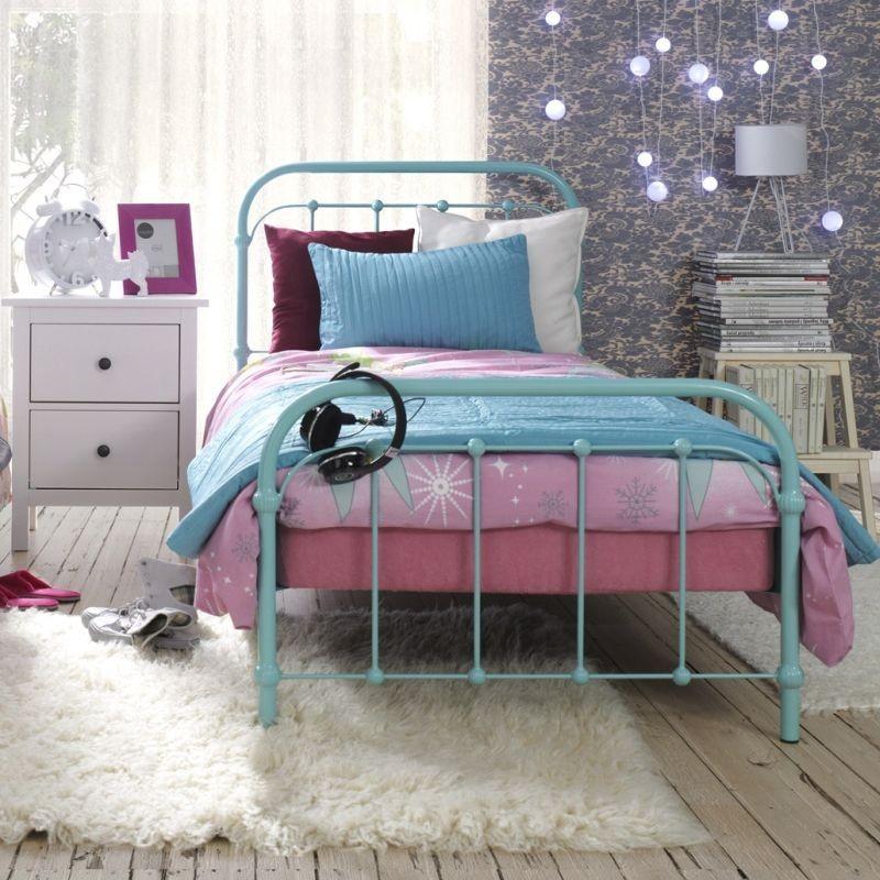 metalowe łóżka dla dzieci, retro łóżka dla dzieci, kute łóżko dla dziecka, łóżeczko