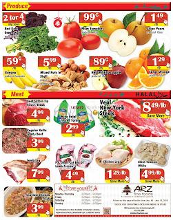 Arz Fine Foods Flyer January 6 – 12, 2017