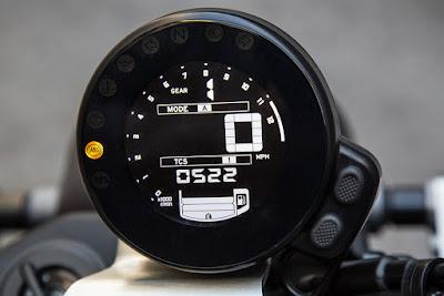 Yamaha XSR900 speed metor image