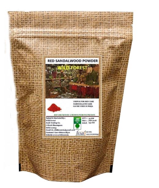 WILD FOREST Red Sandalwood Powder (25g)