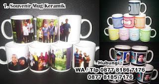 Souvenir Mug Keramik merupakan salah satu inspirasi souvenir pernikahan yang menarik dan berkesan