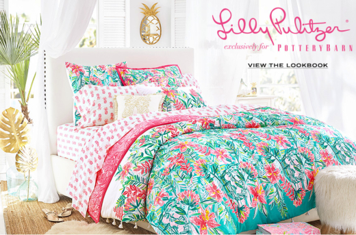 Lilly Pulitzer Palm Beach Home Decor