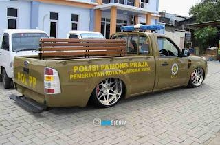 mobil satpol pp modif ceper