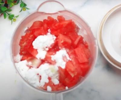 مثلجات البطيخ