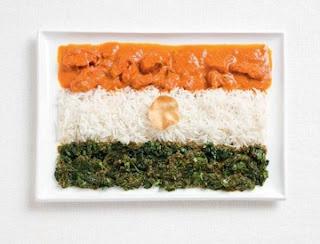 Makanan Unik bendera india