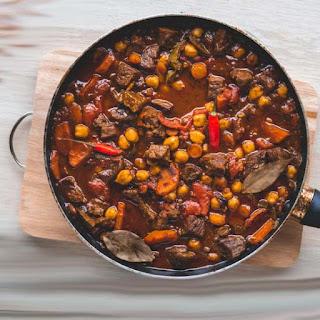 Allspice Mutton Pigeon Pea Stew