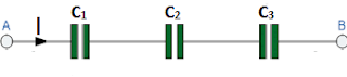 Series combination of capacitor
