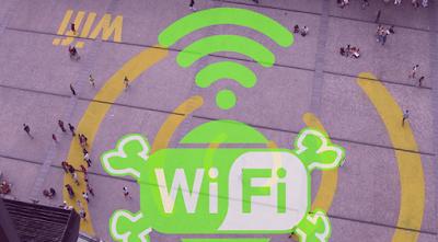 معرفة الشبكات الغير محمية بكلمة سر في الأماكن العامة للكمبيوتر
