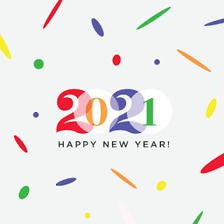 تهنئة السنة الجديدة 2021