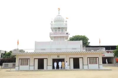 Mehrana Dhora Dham: The main temple of Bishnoi religion in Punjab.