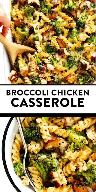 Healthier Broccoli Chicken Casserole Recipe