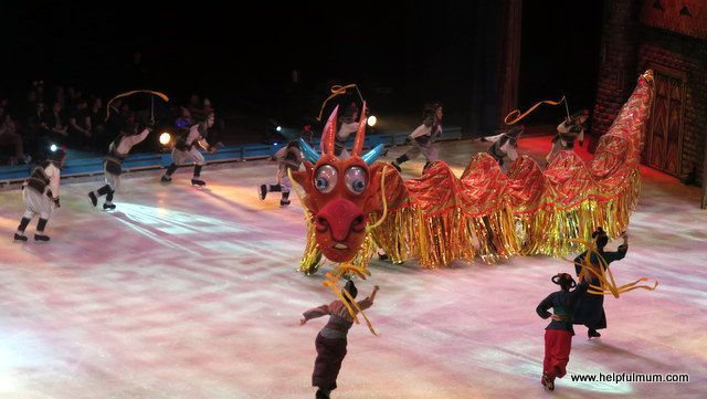 Mushu Mulan Disney on Ice