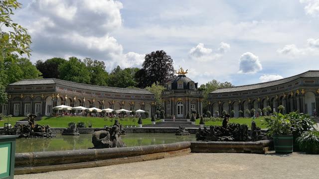 Eremitage Bayreuth - Orangerie mit Sonnentempel
