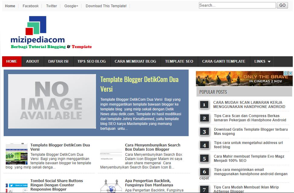 Template Blogger ringan, SEO Fast Responsive Mobile Friendly ...