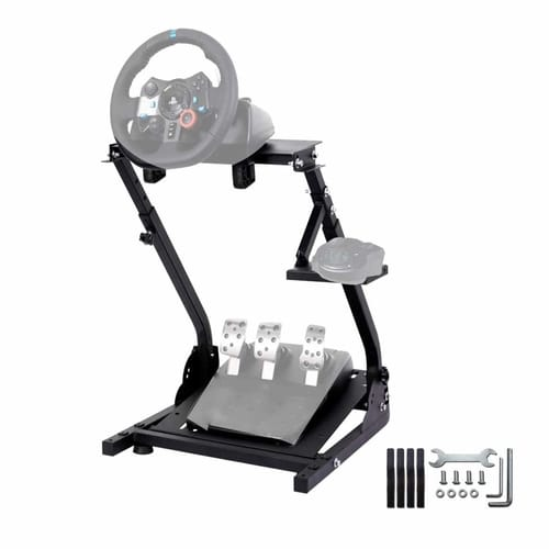 Review VEGAMED Racing Wheel Stand