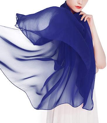 Cheap Silk Chiffon Scarves Shawls