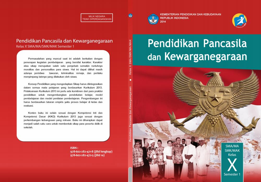 Jawaban PKN Bab 1 Kelas 10 Kurikulum 2013 - Hendri Sose