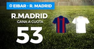 Paston Megacuota liga Real Madrid gana Eibar 9 noviembre 2019