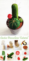 DIY Cactus Pincushion Tutorial