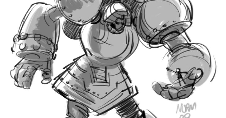 Speedlines Giant Robo 1