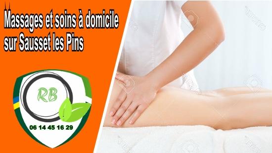 Massages et soins à domicile sur Sausset les Pins;