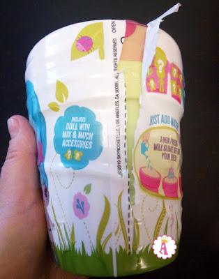 Распаковка цветочного горшка Блум