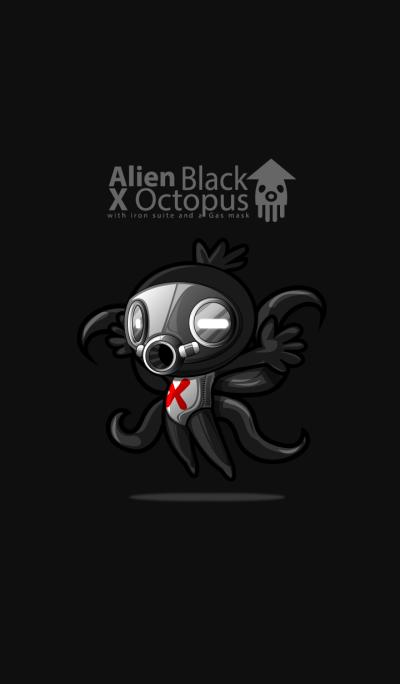 Alien Black x Octopus