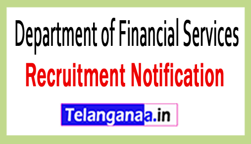 Department of Financial Services DFS Recruitment