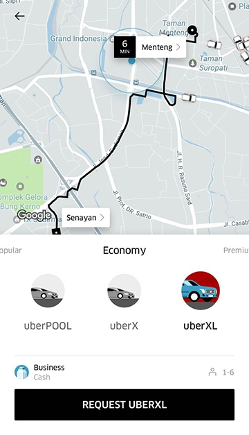 UberXL, Layanan Baru Uber ? Simak Lengkapnya !