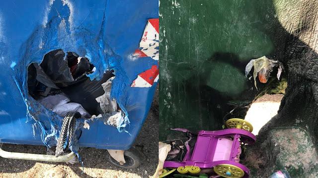 Άργος: Μεγάλος κίνδυνος από την ρίψη στάχτης τζακιών στους κάδους απορριμμάτων