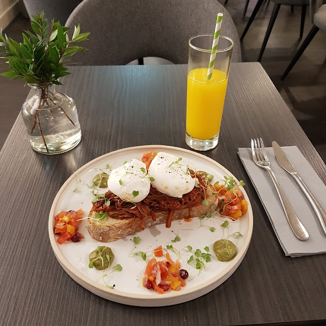 Gluten free at The Remedy Kitchen in Manchester 11 March 2020