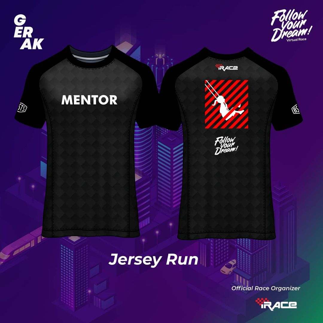 Mentor Jersey - Follow Your Dream Virtual Race • 2021