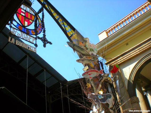 cosa vedere a Barcellona La Boqueria