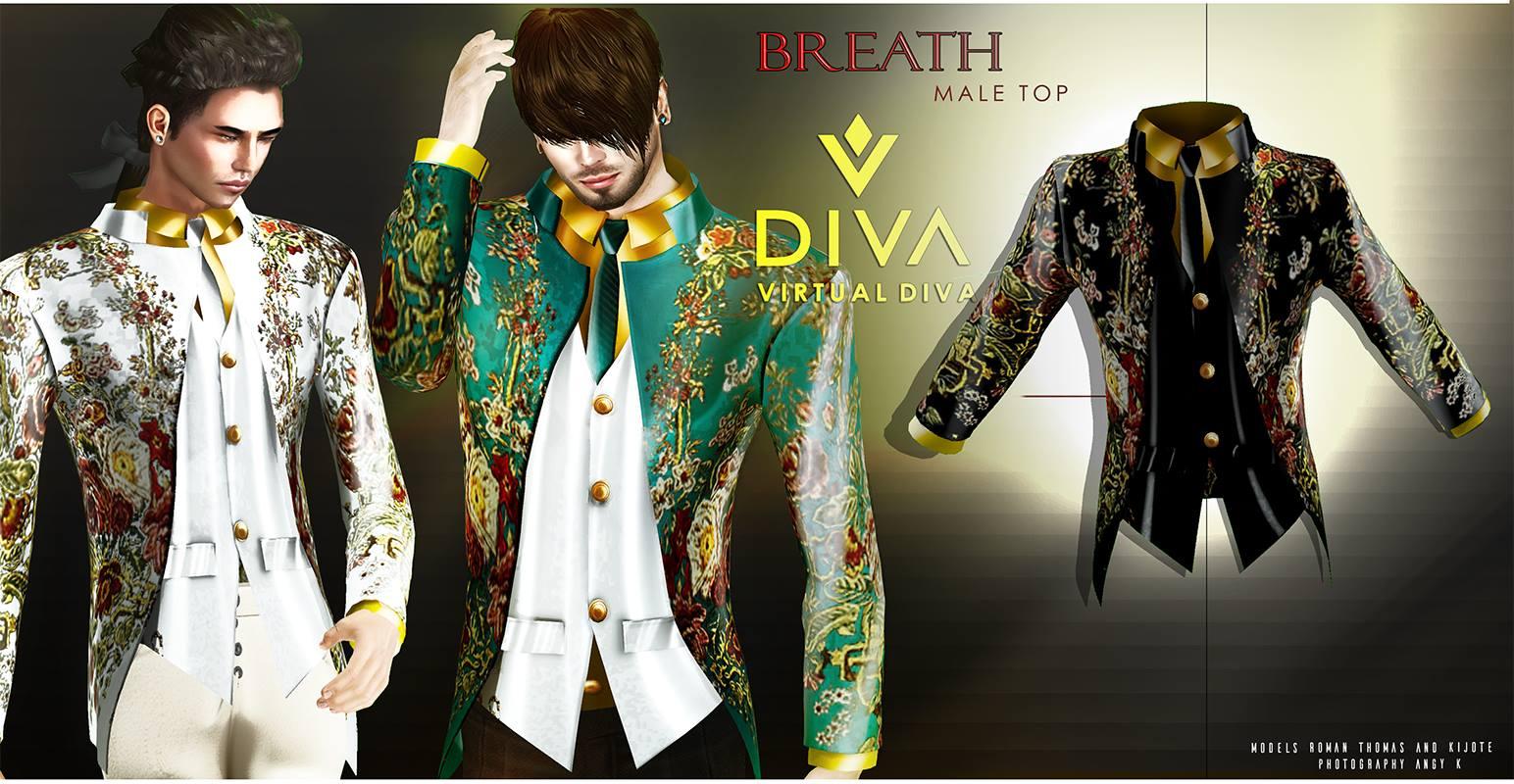 Virtual diva couture breath male top virtual diva for Diva couture