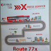 Kuwait Bus Route 77x new bus route