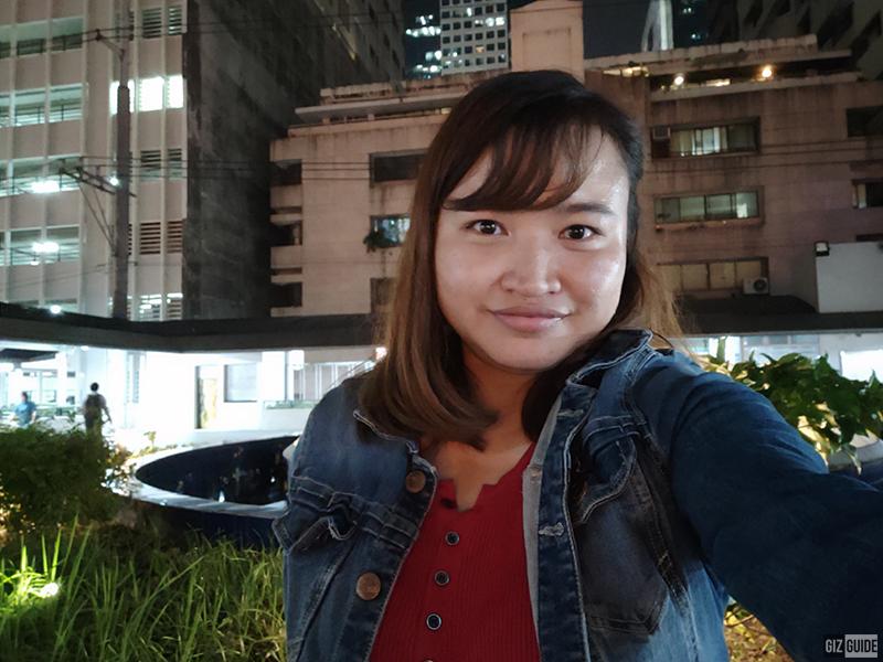 A70 selfie low light