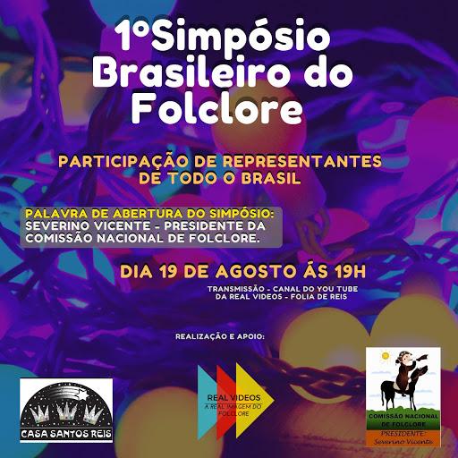 1º Simposio Brasileiro de Folclore | Agosto