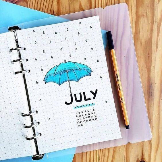 july-bullet-journal