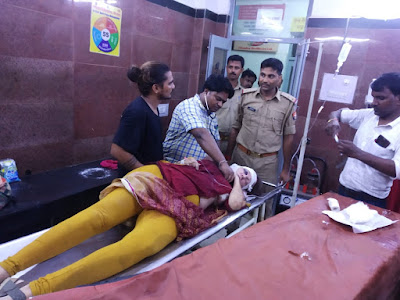 Sweden Female Tourist Accident In Uttar Pradesh News In Hindi