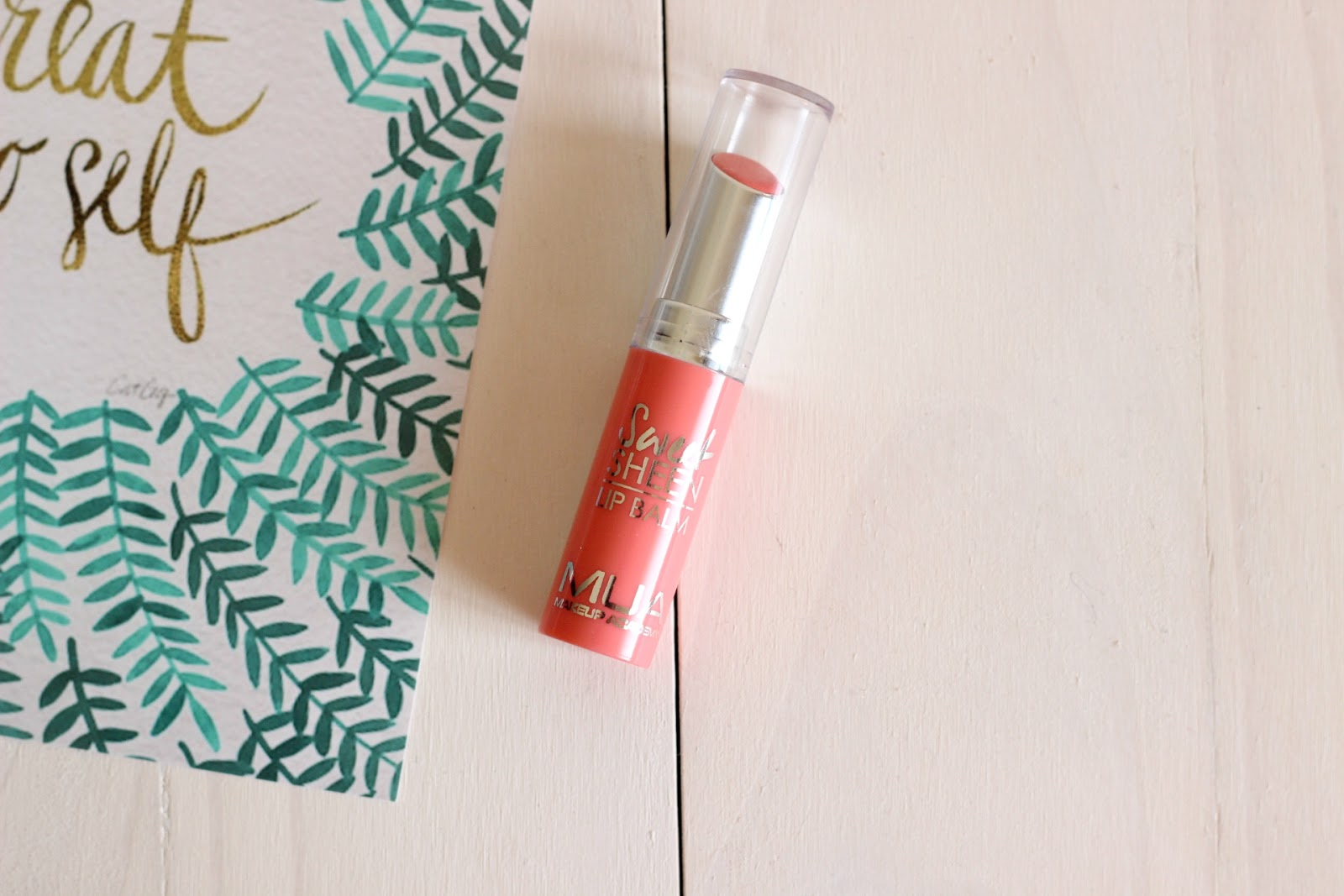 MUA Sweet Sheen Lip Balm - Peach Dream