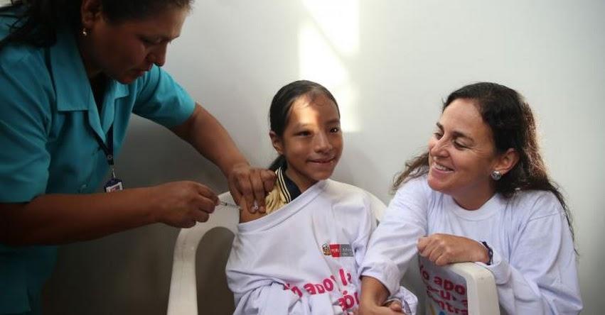 Vacunarán a 100 mil niñas de escuelas públicas y privadas contra virus que ocasiona cáncer de cuello uterino, informó el MINSA - www.minsa.gob.pe