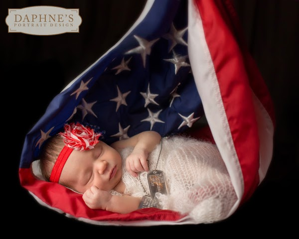 Clarksville photography newborn military baby portraits