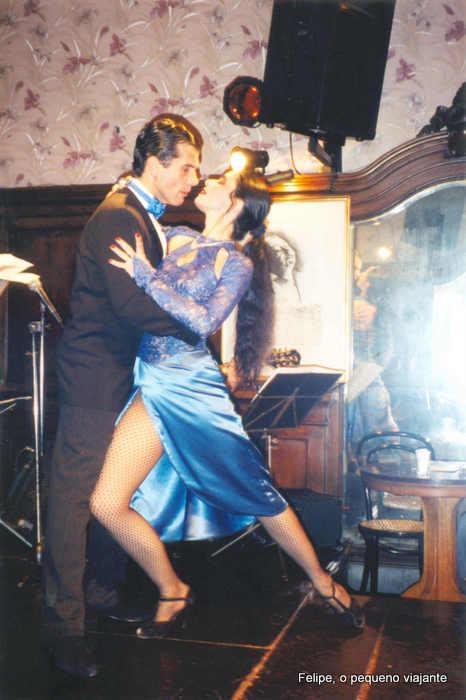 show de tango no Café Tortoni