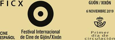 Matasellos PDC del Festival Internacional de Cine de Gijón