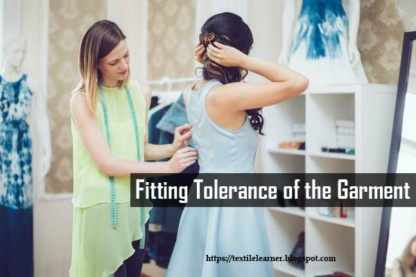 Garment fitting tolerance