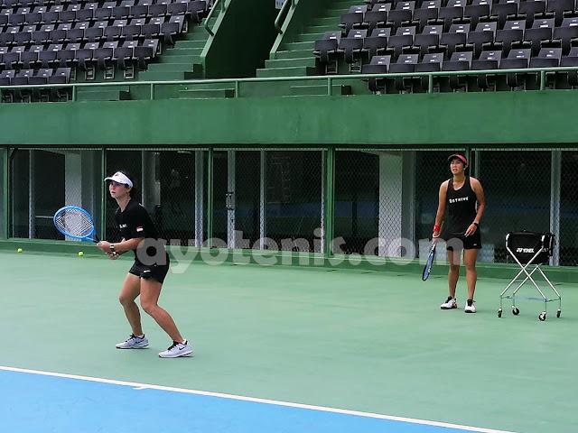 PSBB, Deddy Tedjamukti dan Febi Widhiyanto Arahkan Latihan Mandiri pada Atlet Pelatnas Tenis