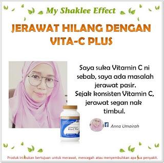 Testimoni Pengguna Vitamin C Shaklee Untuk Kulit dan Jerawat